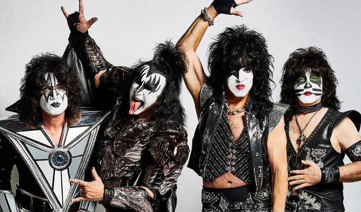 Resultado de imagem para Kiss adia turnê pela Oceania devido forte gripe de Paul Stanley